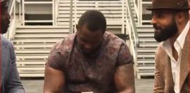 Dillian Whyte Shows Private Message Deontay Wilder Sent Him