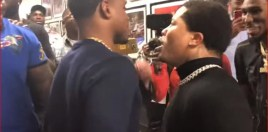 Gervonta Davis, Errol Spence, Charlo and Easter In Bizarre Backstage Meeting