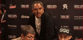 Golovkin Trainer Snaps At Reporter Ahead Of Canelo Rematch