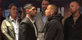 Khan vs Vargas Face Off