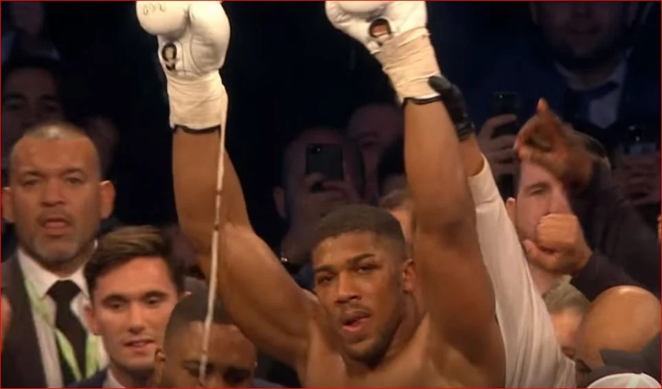 Watch: Anthony Joshua Becomes The First Man To Knock Out Povetkin