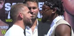 Demetrius Andrade Rubs It In On Billy Joe Saunders After Winning His Vacated World Title