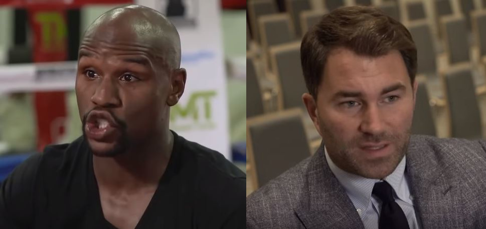 Eddie Hearn Reacts To Floyd Mayweather Mocking Canelo Alvarez' DAZN Deal