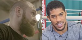 Tyson Fury Reveals The Day He and Anthony Joshua Nearly Had A Street Fight