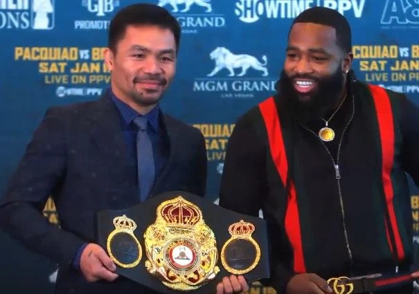 Adrien Broner Rips The Media and Taunts Manny Pacquiao's Asian Heritage