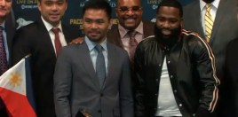 Pacquiao and Broner Go Head To Head For The First Time - New York Presser Round Up