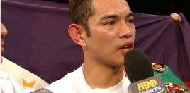 What Donaire Told Burnett After Winning The World Title