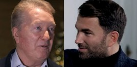 Eddie Hearn Responds To Frank Warren Saying He'd Smack Him If He Was His Son