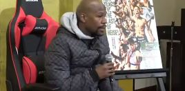 Floyd Mayweather Reacts To Threats Of Getting Kicked
