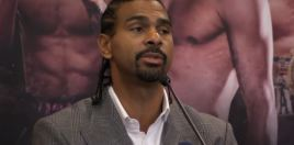 Haye Reacts To Being Asked If He Would Have Beaten Joshua In His Prime