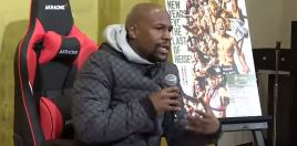 Mayweather Makes Big Claim About Getting Knocked Out