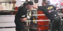 Fans Stunned By Early Shape Tyson Fury Shows Off In First Pads Video Of 2019