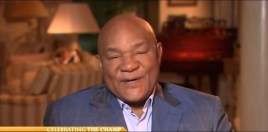George Foreman Makes Humble Admission On Joe Frazier Fight Anniversary