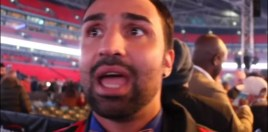 Malignaggi's Reaction To Mayweather vs Tenshin Was Classic