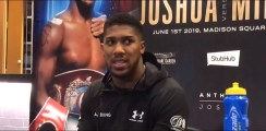 Anthony Joshua Makes Good Point About Canelo Since His Loss To Mayweather