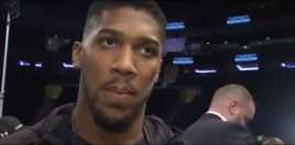 Anthony Joshua Predicts How He'll Beat Jarrell Miller