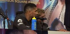 Joshua Stops Reporter In His Tracks When He Brings Up $50 Million Wilder Offer