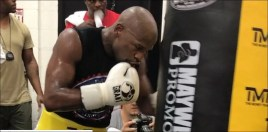 Mayweather Posts Video Of Him Back In The Boxing Gym 2 Days Ahead Of Turning 42