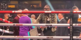 Deontay Wilder Buries The Hatchet With Floyd Mayweather