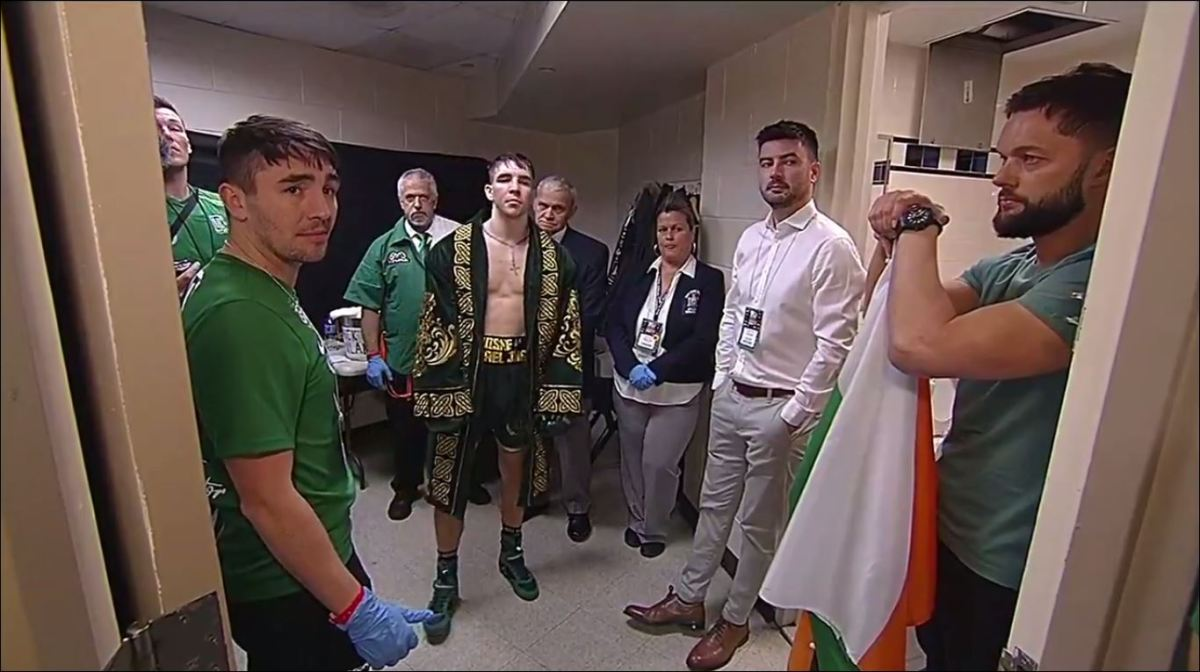 Michael Conlan's Ring Entrance Got People Talking