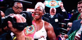 Andre Ward Reacts To Claressa Shields Going 10-0 With Habazin Win