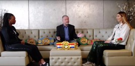 Claressa Shields and Christina Hammer Sit Down 1 on 1 Ahead Of Biggest Women's Title Fight Ever