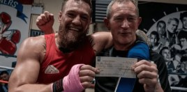Conor McGregor Pays Back Boxing Coach A Loan That Went Back 15 Years