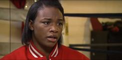 Female Boxing Star Claressa Shields Catches Two Reporters Off Guard