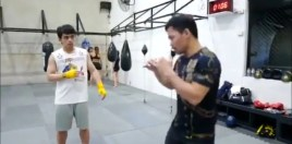Footage Shows Manny Pacquiao Training His Son To Follow In His Footsteps