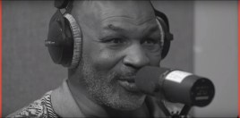 Mike Tyson Gets Emotional When Explaining Why He Feels The USA Is The Best
