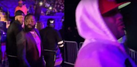Adrien Broner Threatens A Fan During Robert Easter Ring Walk