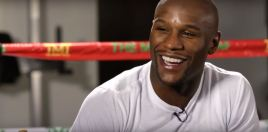 Floyd Mayweather Reacts To Officially Winning Fighter Of The Decade