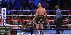 Watch: Tyson Fury Stops Deontay Wilder In Round 7 To Become WBC Champion