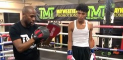 Floyd Mayweather Posts Video With Son After Daughter Alleged Incident