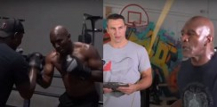 Watch 57-Year-Old Holyfield Training With Klitschko and Tarver For Return