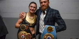 Conor McGregor Reacts To Katie Taylor Beating Delfine Persoon