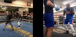 video shows mayweather training both devin haney and gervonta davis