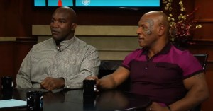 Evander Holyfield Is Not Happy With Mike Tyson