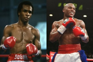 George Foreman On Who Would Have Won Between Leonard vs Mayweather