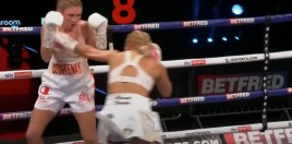 Defeated Blonde Boxing Stunner Lives Up To The Hype