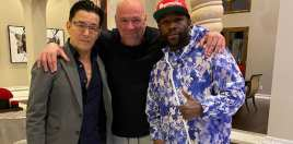 Floyd Mayweather, Dana White and Japan