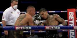 Son of boxing legend wins by first round knockout