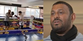 Prince Naseem Hamed Son Looks Like Chip Off The Old Block