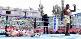 Cuban boxer delivers knockout blow