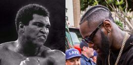 Deontay Wilder Trainer Grabs Attention With Muhammad Ali Claim