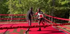 Deontay Wilder Works On New Defense and Counters