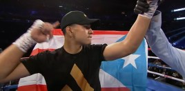 Unbeaten Puerto Rican Knockout Artist Wants 4 Things From Boxing