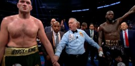 Tyson Fury Reacts To Deontay Wilder 3 Fight News