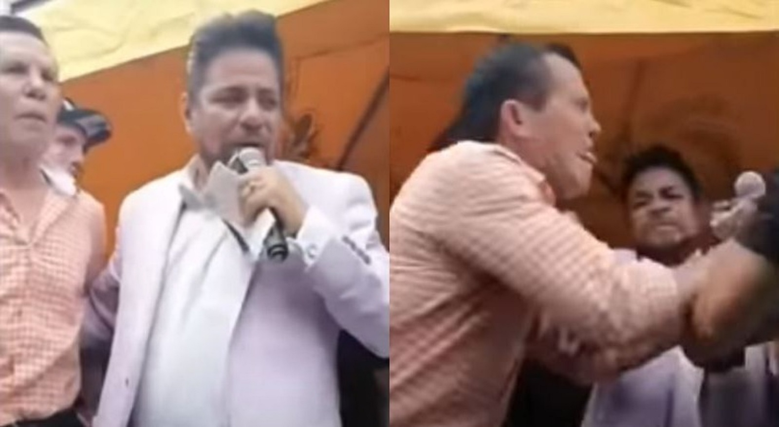 Watch: Chavez and Camacho Get Into An Altercation
