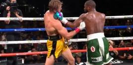 Boxing Fans Erupt After Floyd Mayweather Logan Paul Fight